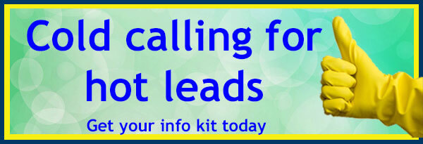 Cold Calling brings Hot Leads by starting with your free info kit from Janitorial Inside Sales.